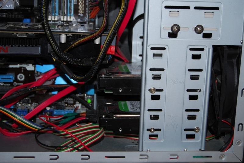 Два жестких диска в компьютере