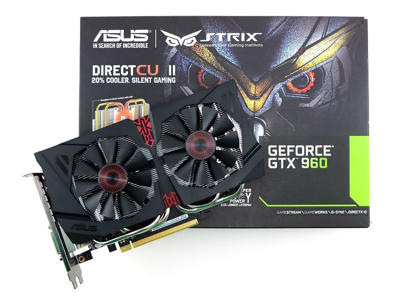 Видеокарта ASUS GeForce GTX 960