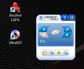 Гаджет Daemon Tools