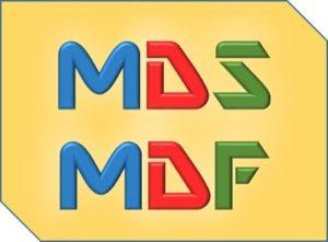 Учимся открывать MDF и MDS