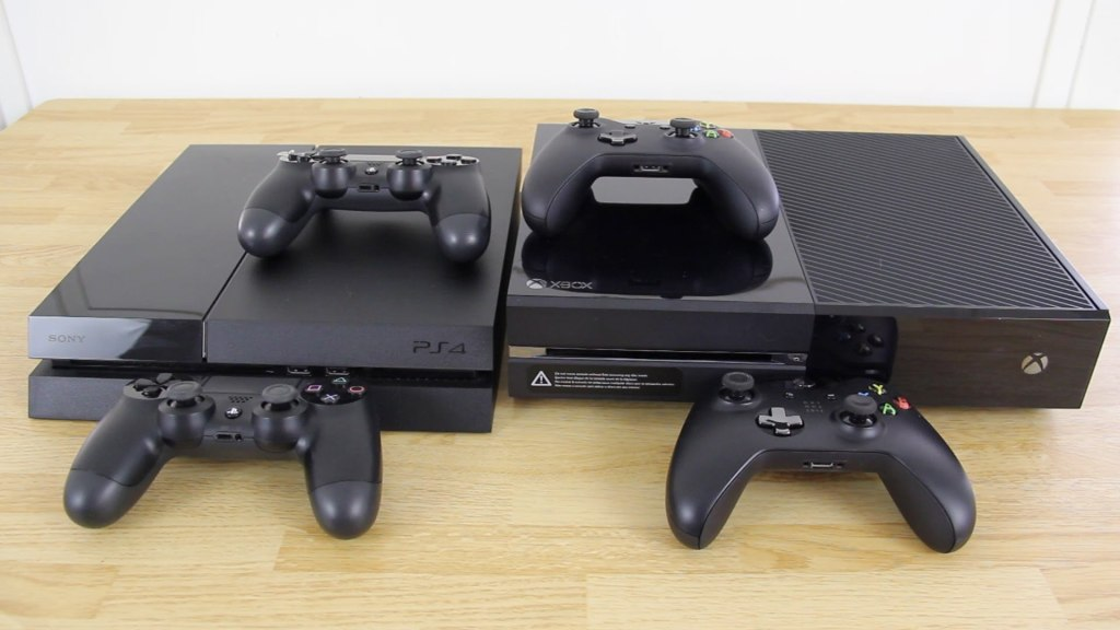 Консоли Xbox one и Playstation 4
