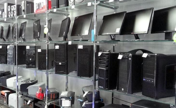 Компьютеры в магазине