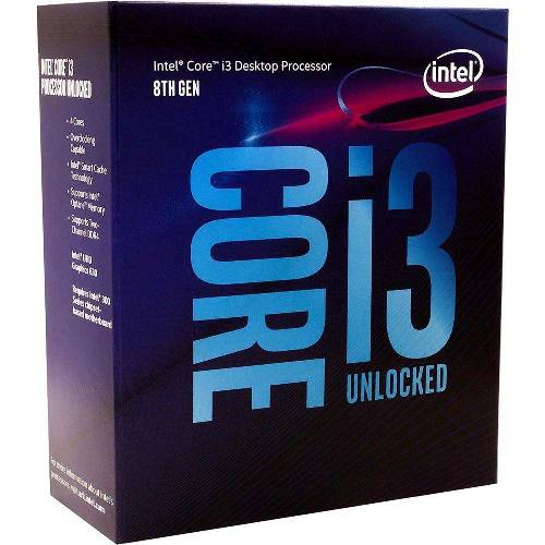 Процессор Intel Core i3 8100