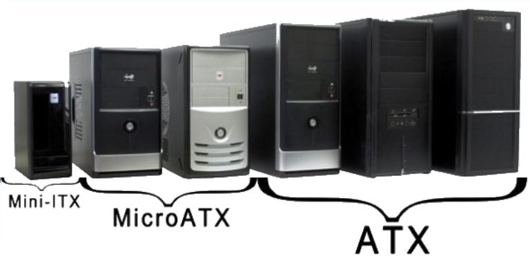 Разновидности системных блоков