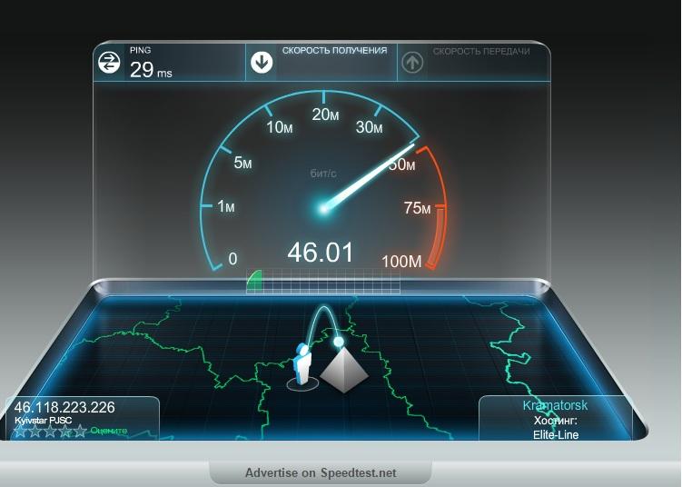 Проверяем скорость интернета онлайн