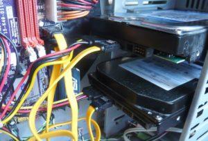 Устанавливаем второй жесткий диск в ПК