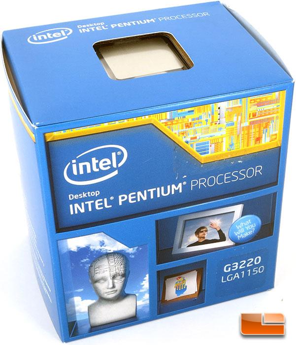 Процессор Pentium G3220 Haswell