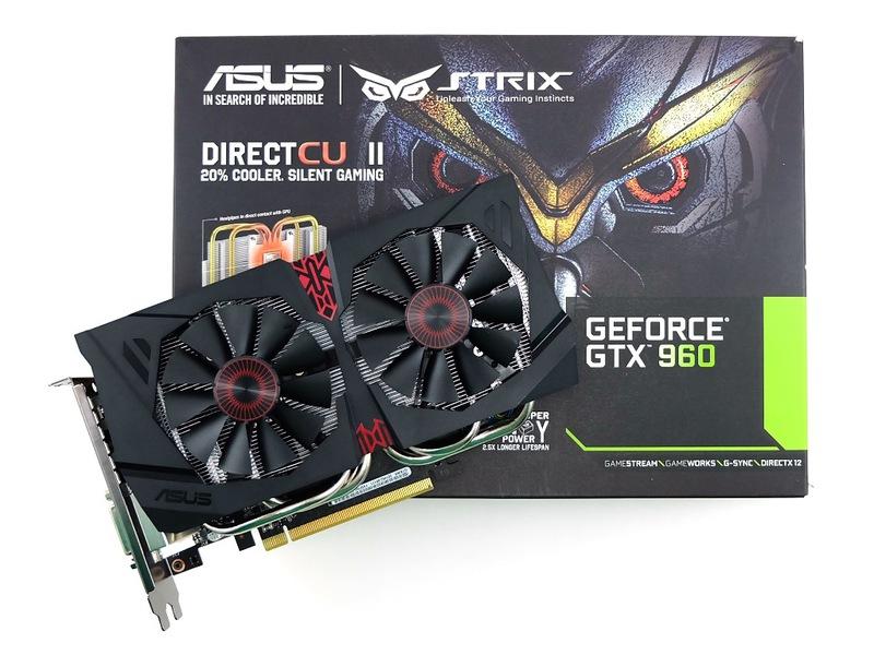 Видеокарта ASUS GeForce GTX 960