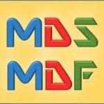 Открываем файлы MDF и MDS на своём компьютере