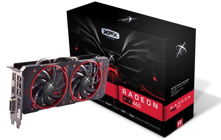 Видеокарта Radeon RX 460