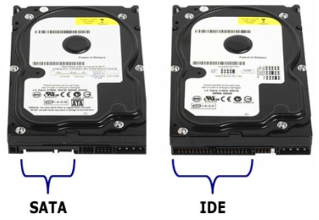 IDE и SATA III жесткие диски