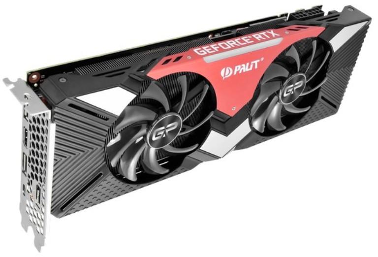 Видеокарта Palit GeForce RTX 2070 Dual