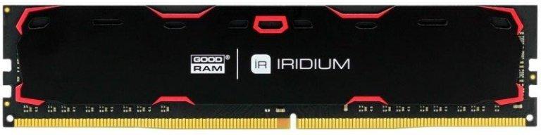 ОЗУ GOODRAM DDR4 2133MHz 4GB Iridium Black