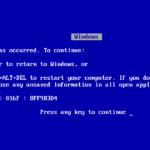 """""""Синий экран смерти"""" – что это и как избавиться?"""