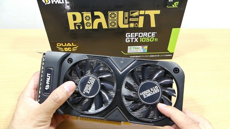 Видеокарта Geforce GTX 1050 Ti