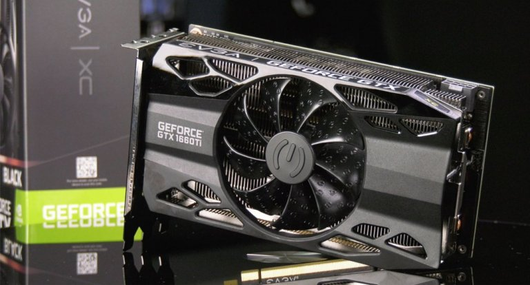 Видеокарта Geforce GTX 1660 Ti