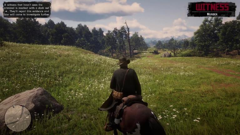 Игровой процесс Red Dead Redemption 2
