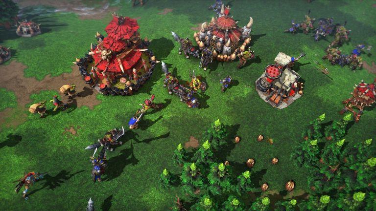 Строительство в Warcraft 3 Reforged