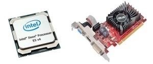 CPU и видеокарта