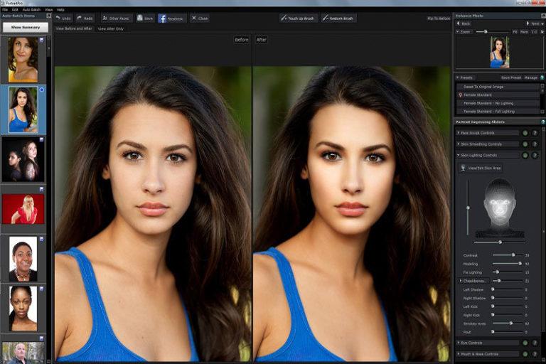 Поменять цвет волос на фото приложение качества