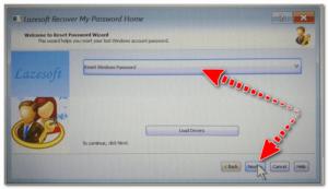 Сброс пароля в Windows (Reset Password Windows)
